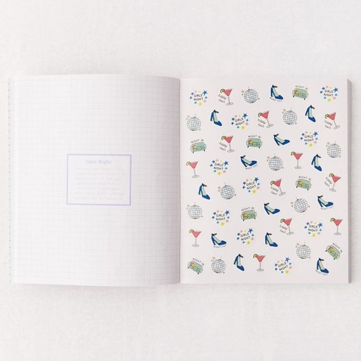 """page of stickers in """"So. Many. Planner Stickers."""" book"""