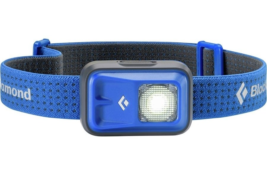 the headlamp in blue