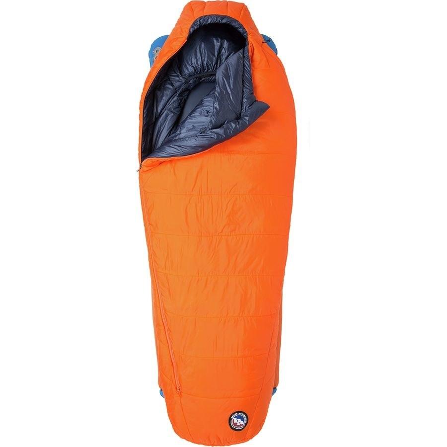 the sleeping bag