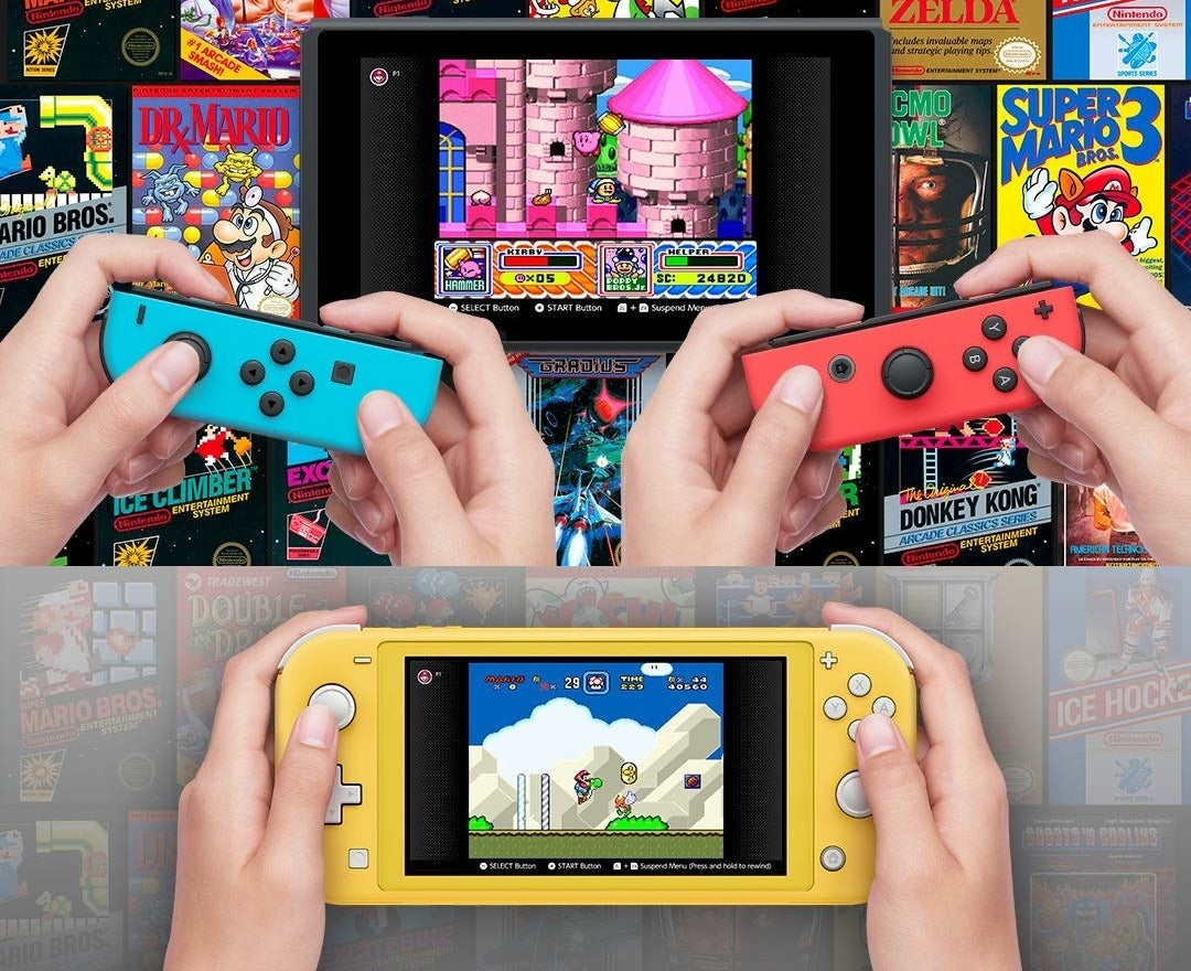 Multiple people can be seen playing with their switch online