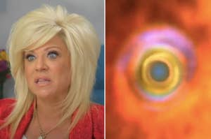 The Long Island Medium and one of Raven's visions from That's So Raven