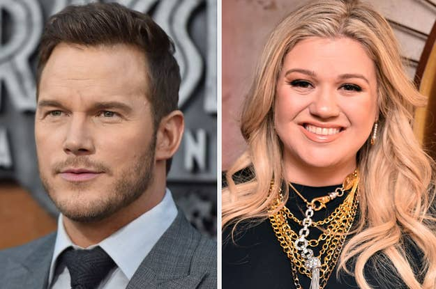 Chris Pratt and Kelly Clarkson