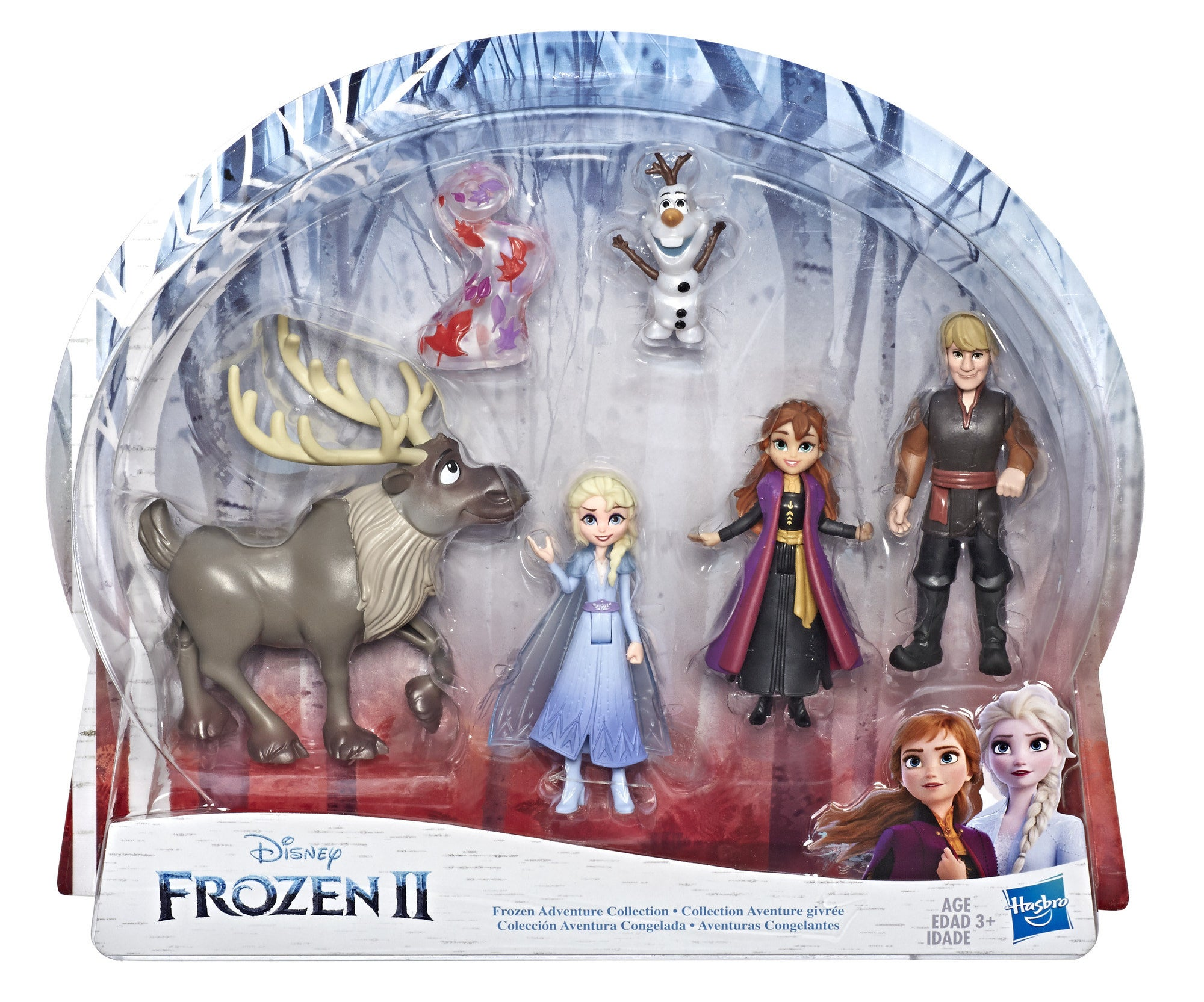 The Frozen 2 playset, which contains all six action figures