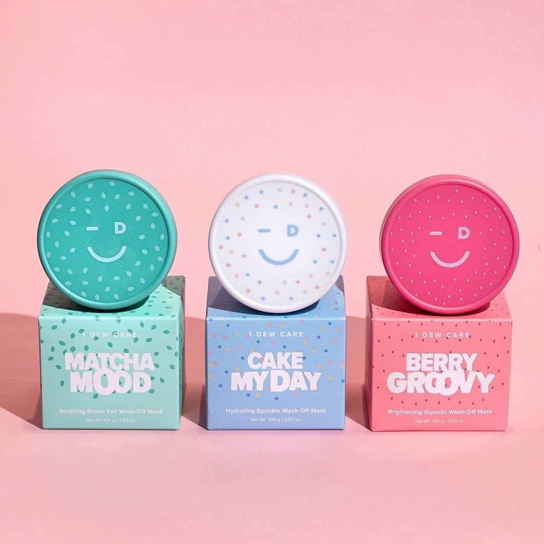 The mini ice-cream themed skincare kit