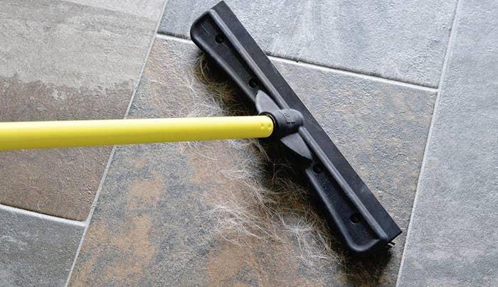 The pet-fur broom