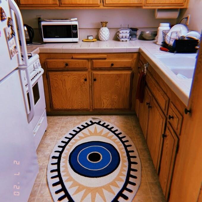 The kitchen mat