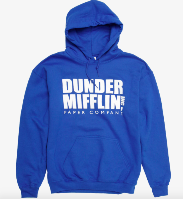 the dunder mifflin the office hoodie