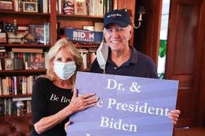 Joe Biden and Dr. Jill Biden