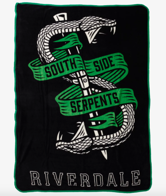 the riverdale southside serpents throw blanket
