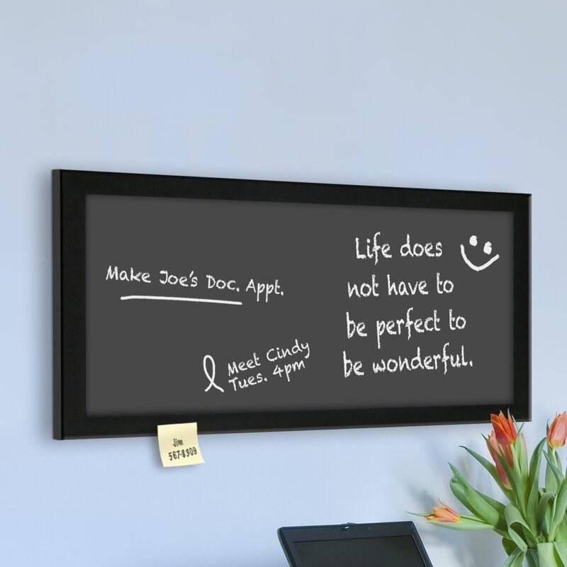 The chalkboard