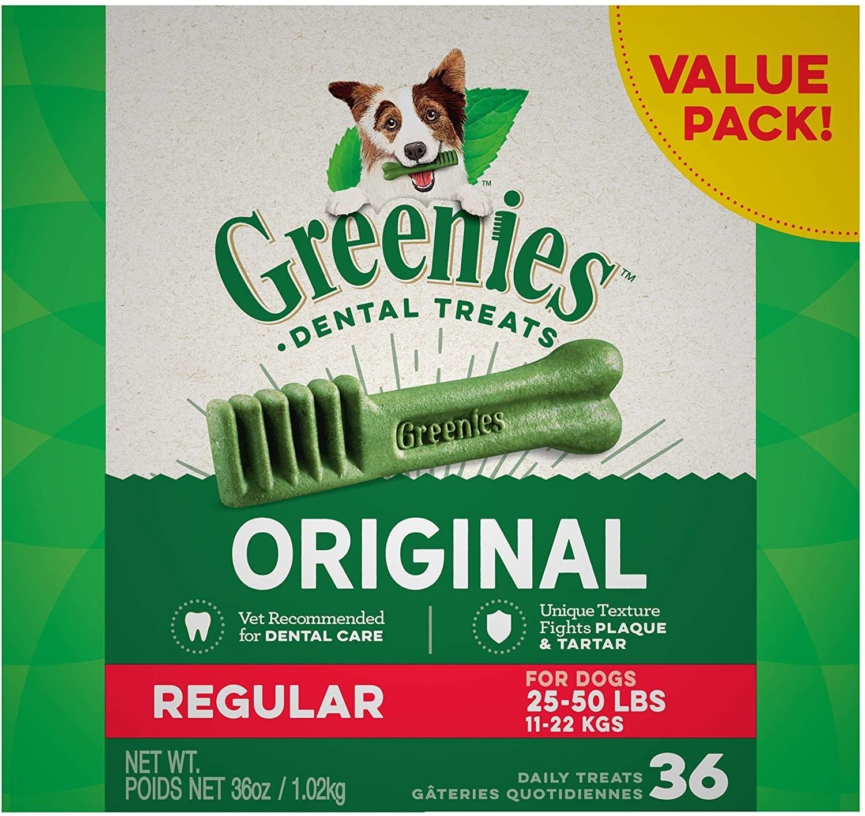 The toothbrush-shaped dog treats