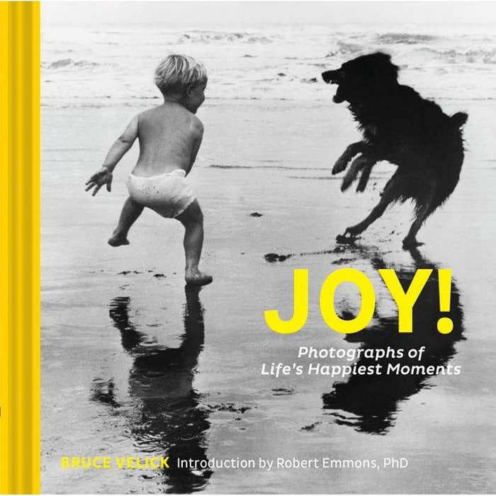 Black and white coffee table book with yellow font.