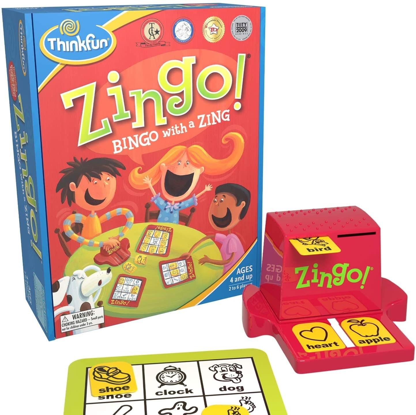 "The kid-friendly ""Zingo"" game"