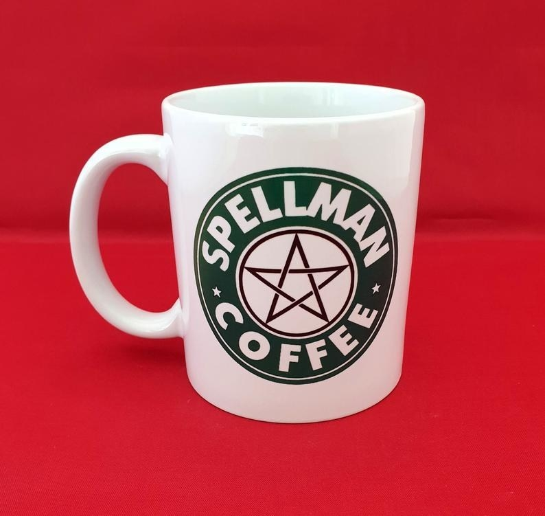 the chilling adventures of sabrina starbucks inspired mug