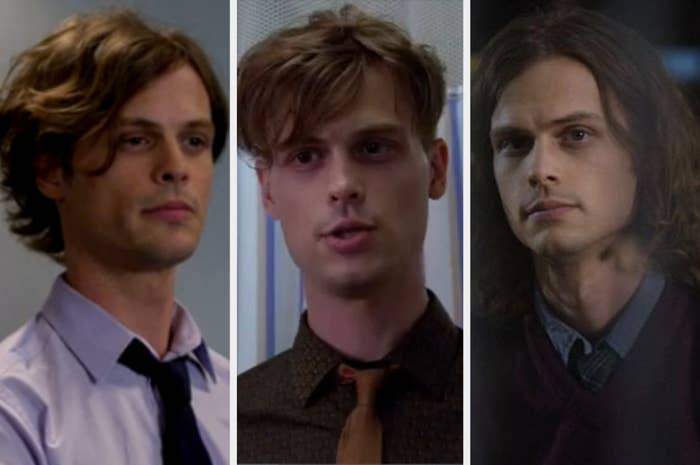Spencer with varying haircuts.
