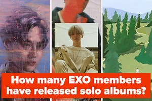 Album covers from suho baekhyun and chen