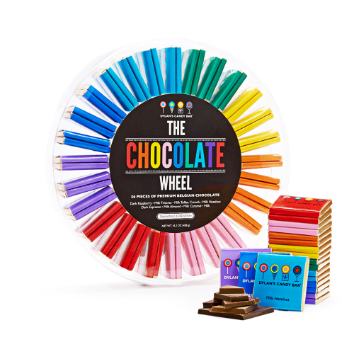 the chocolate wheel