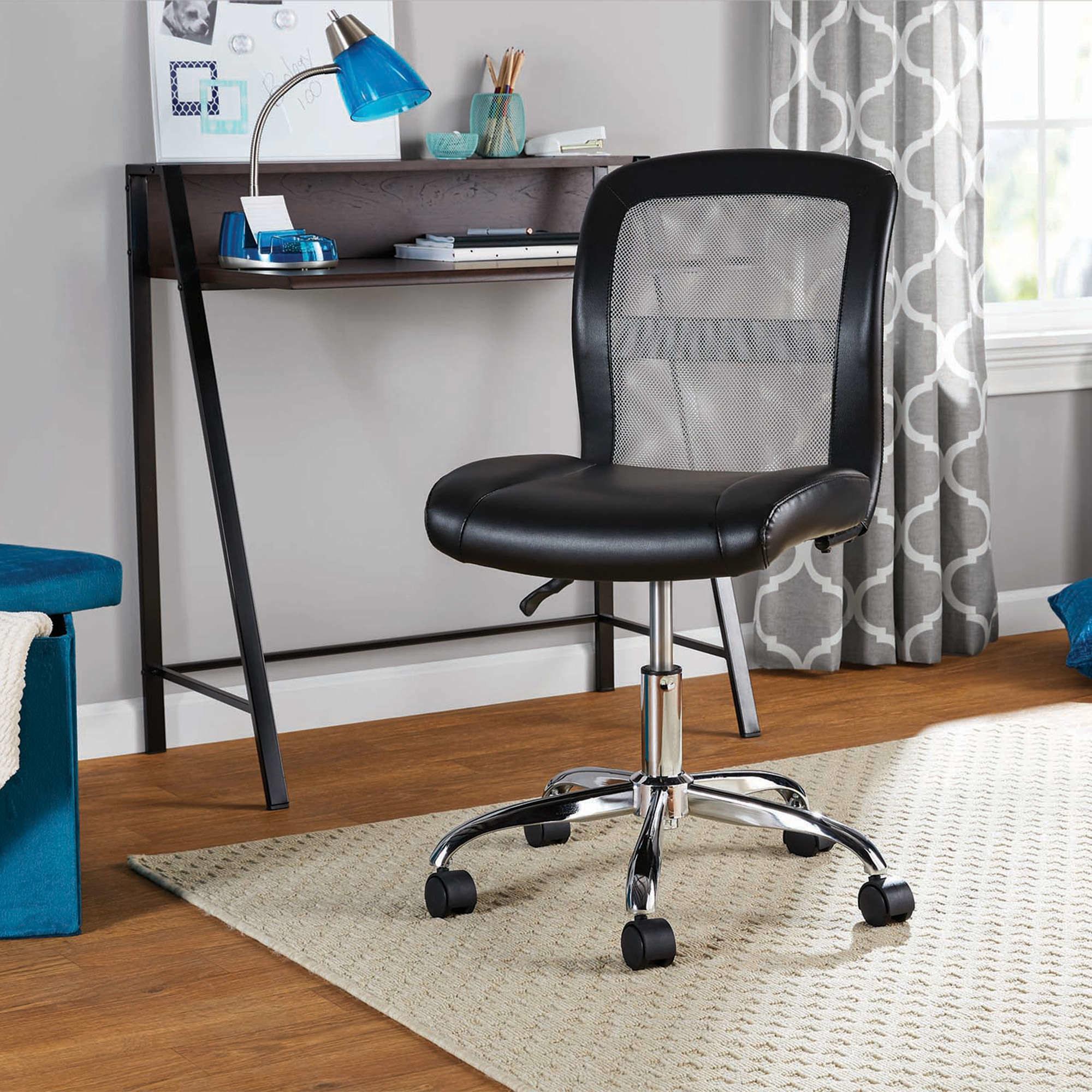 a black chair