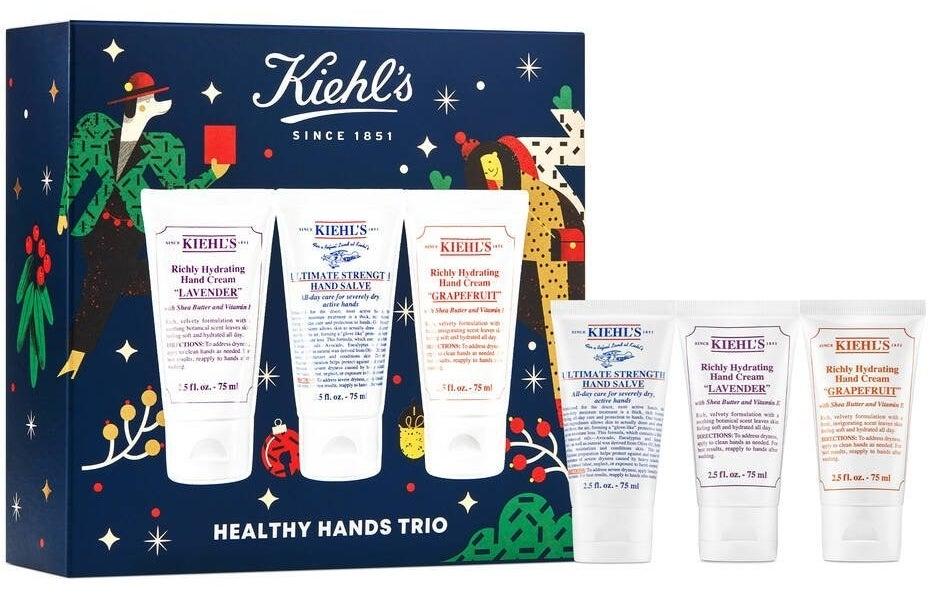 the trio of Kiehl's hand creams