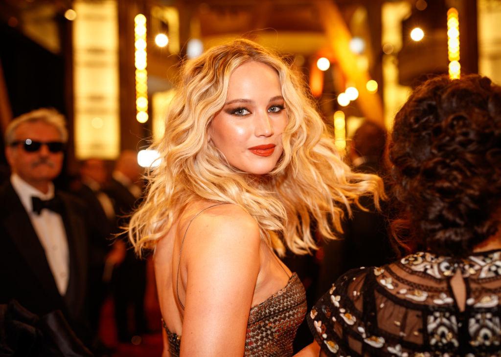 Jen at the Oscars