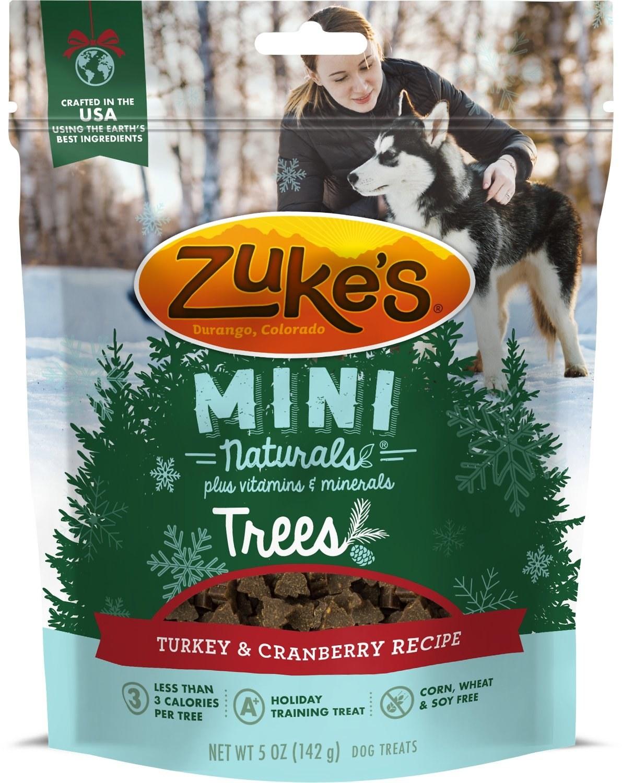 Christmas tree shaped dog treats