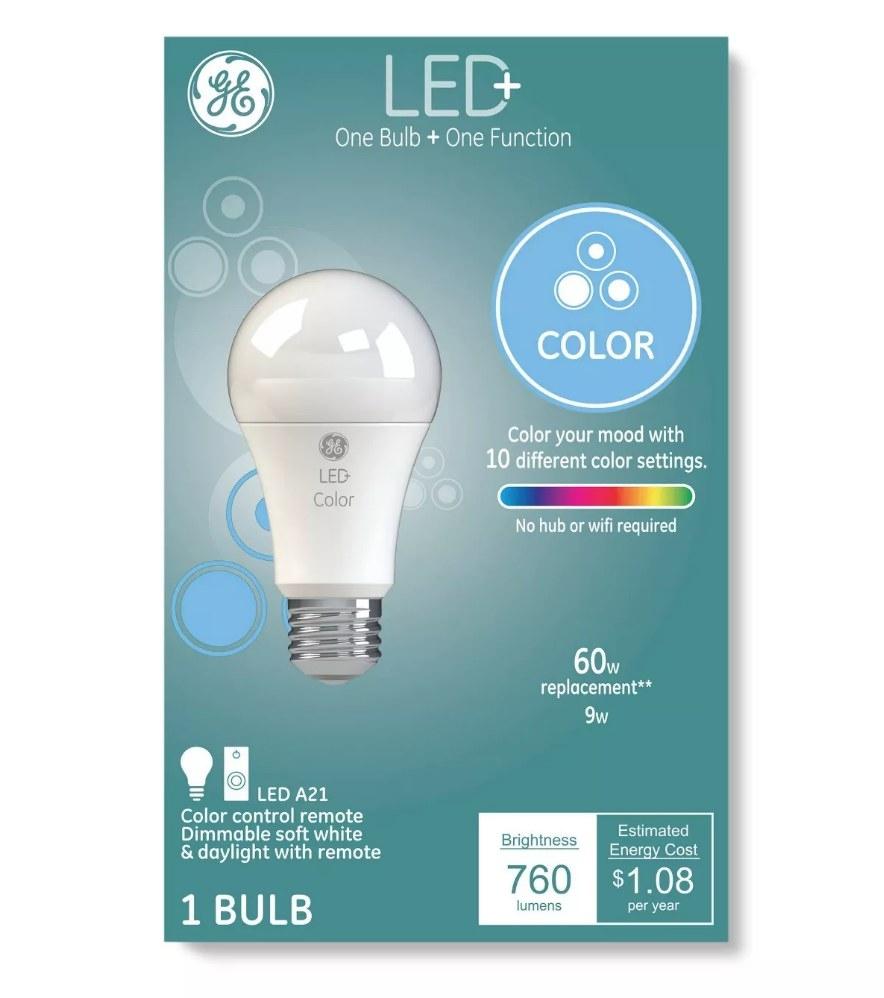 LED light bulb packaging