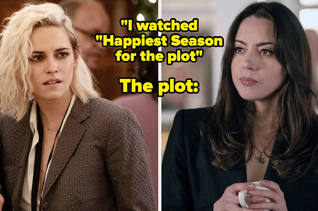 """25 Posts That Prove """"Happiest Season"""" Is A Chaotically Queer Masterpiece"""