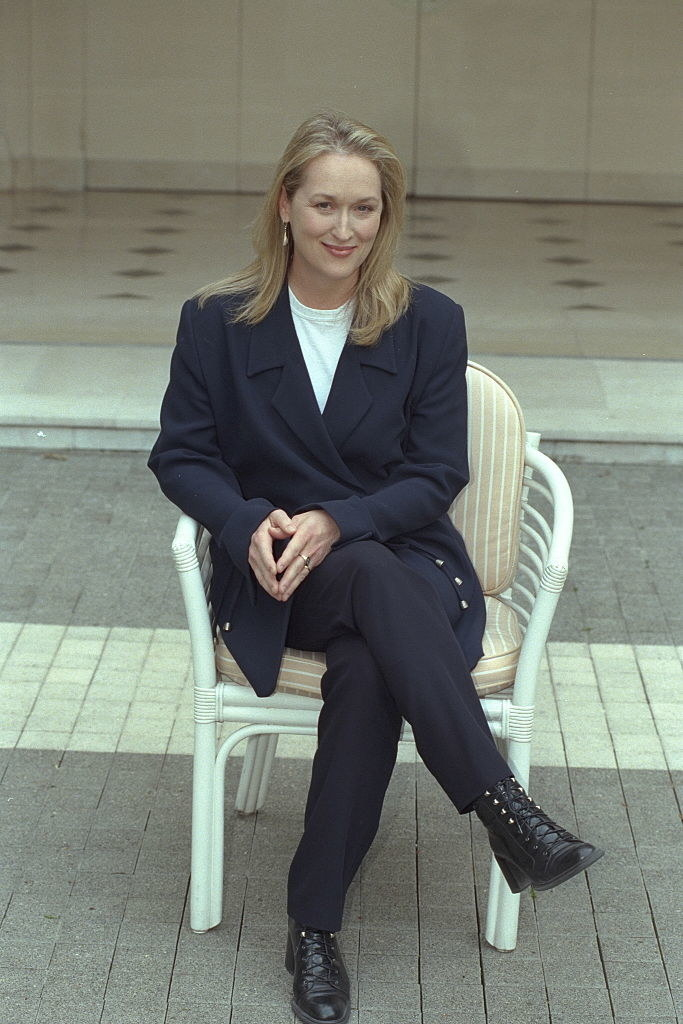 in a power suit