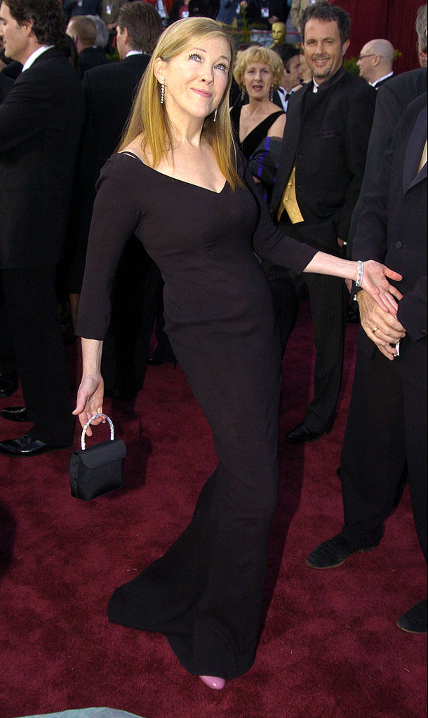 another long black dress