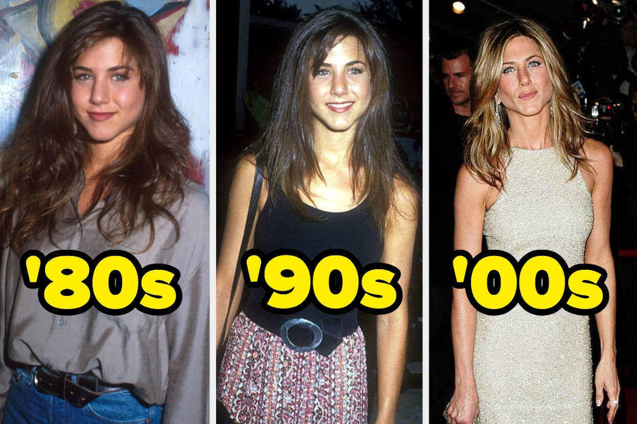 26 Celebrities Who Have Somehow Been Famous For The Past Half A Century And What They Looked Like In Each...