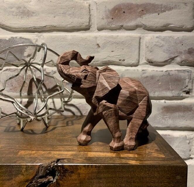 The elephant figurine