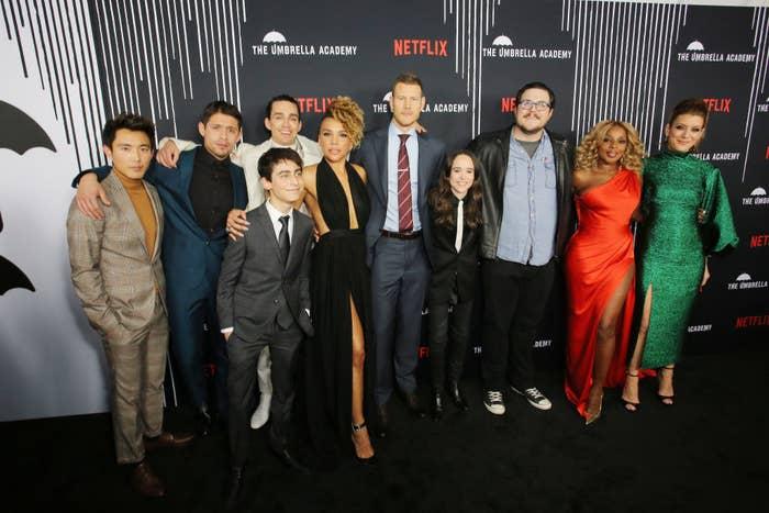 Umbrella Academy cast and crew