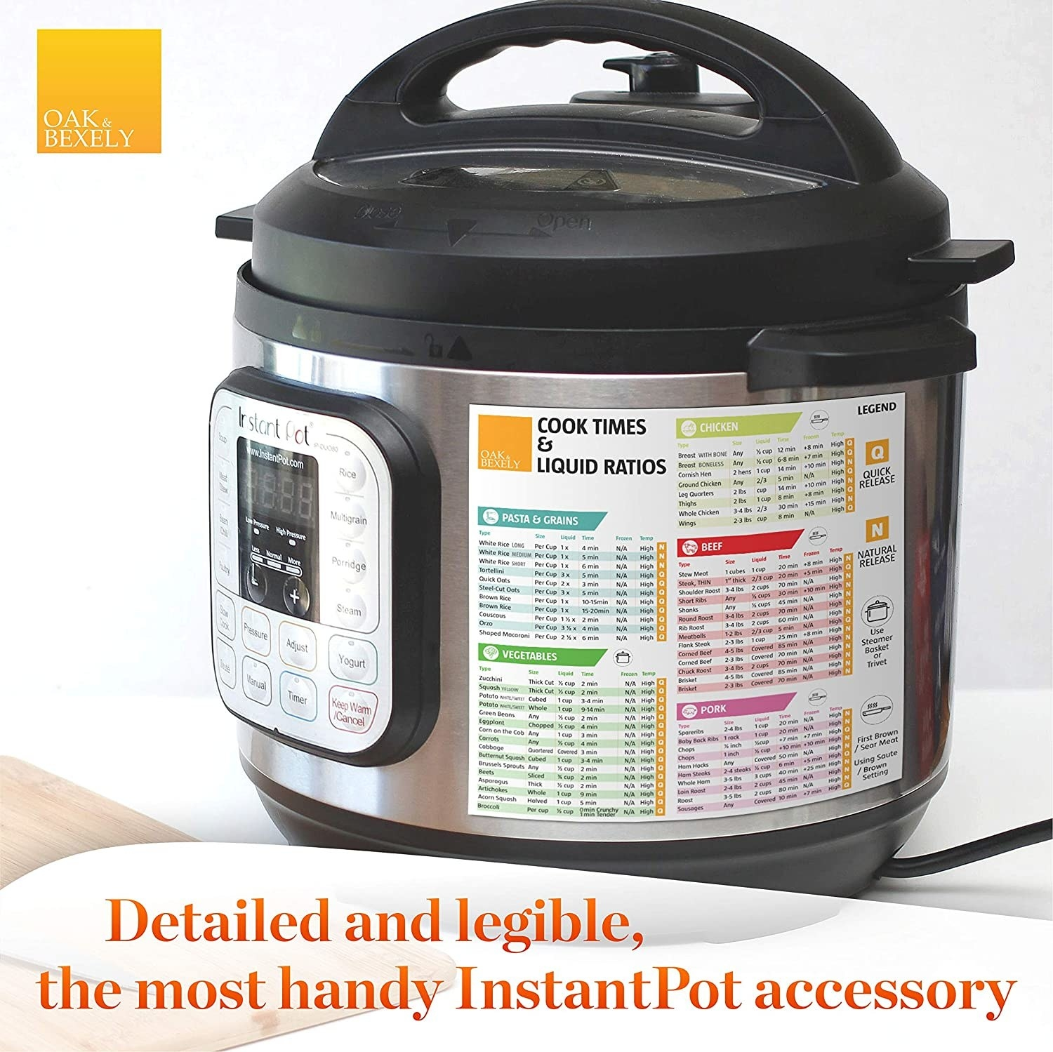Instant Pot with magnet on it