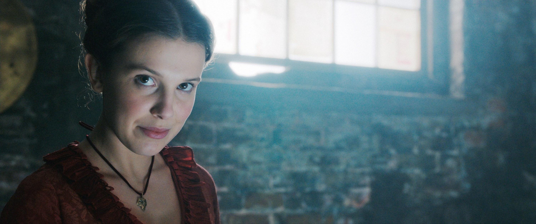 Millie Bobby Brown as Enola Holmes, 2020