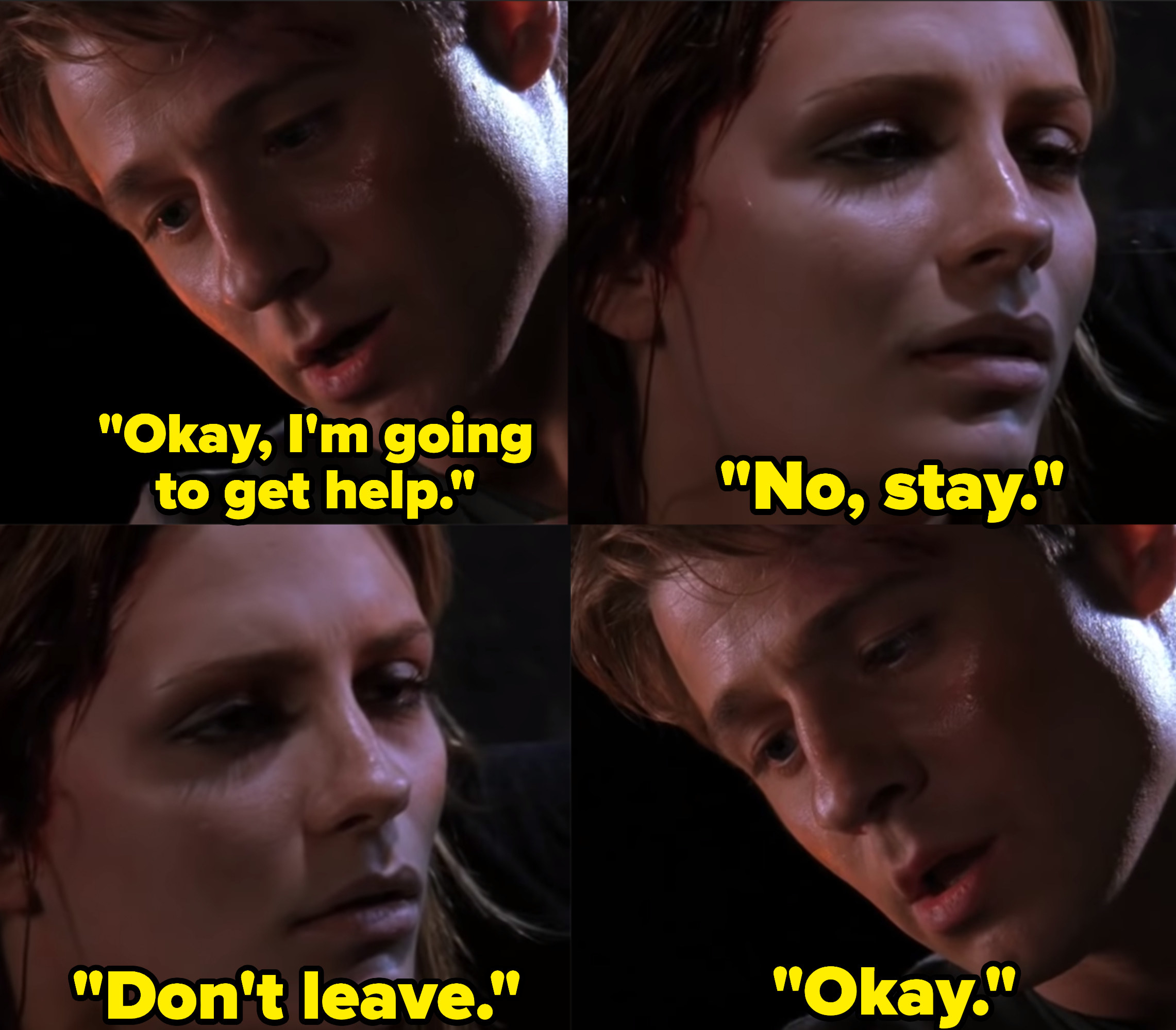 """Ben McKenzie as Ryan Atwood and Mischa Barton as Marissa Cooper in the show """"The O.C."""""""