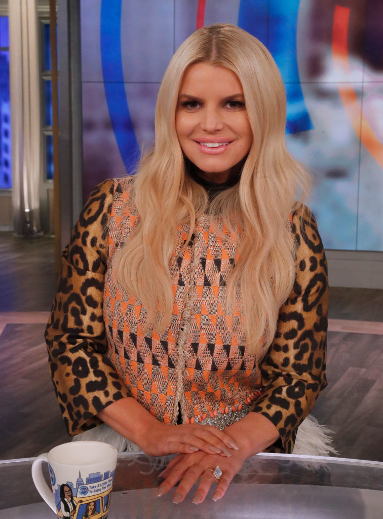 """Jessica Simpson on """"The View"""""""