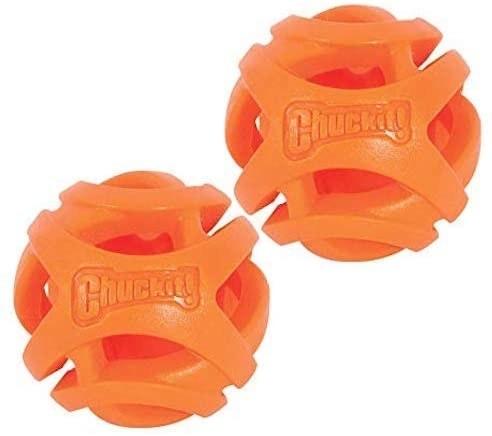chuck it orange breathe right balls