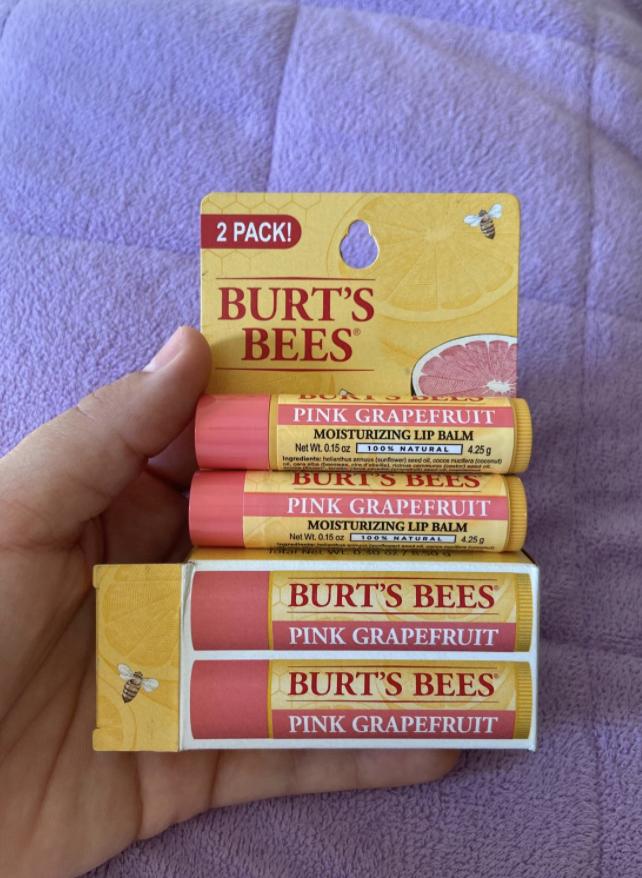 grapefruit burt's bees lip balm