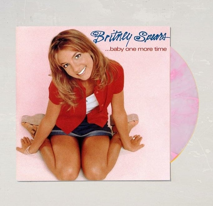 britney spears album cover
