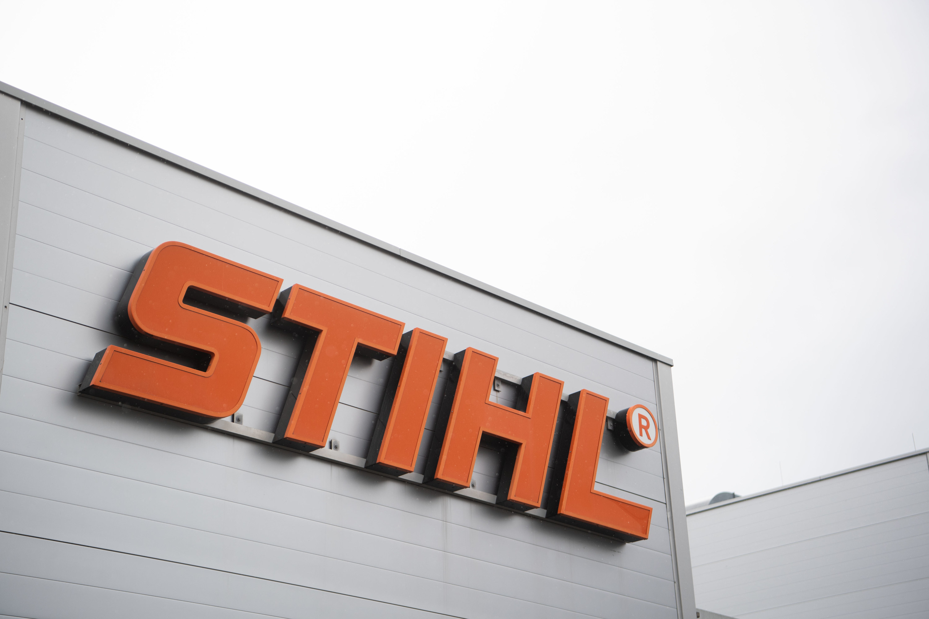 "The bold-lettered ""Sithl"" logo on the side of a building"