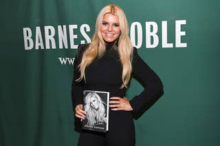 Jessica Simpson signs copies of her new book