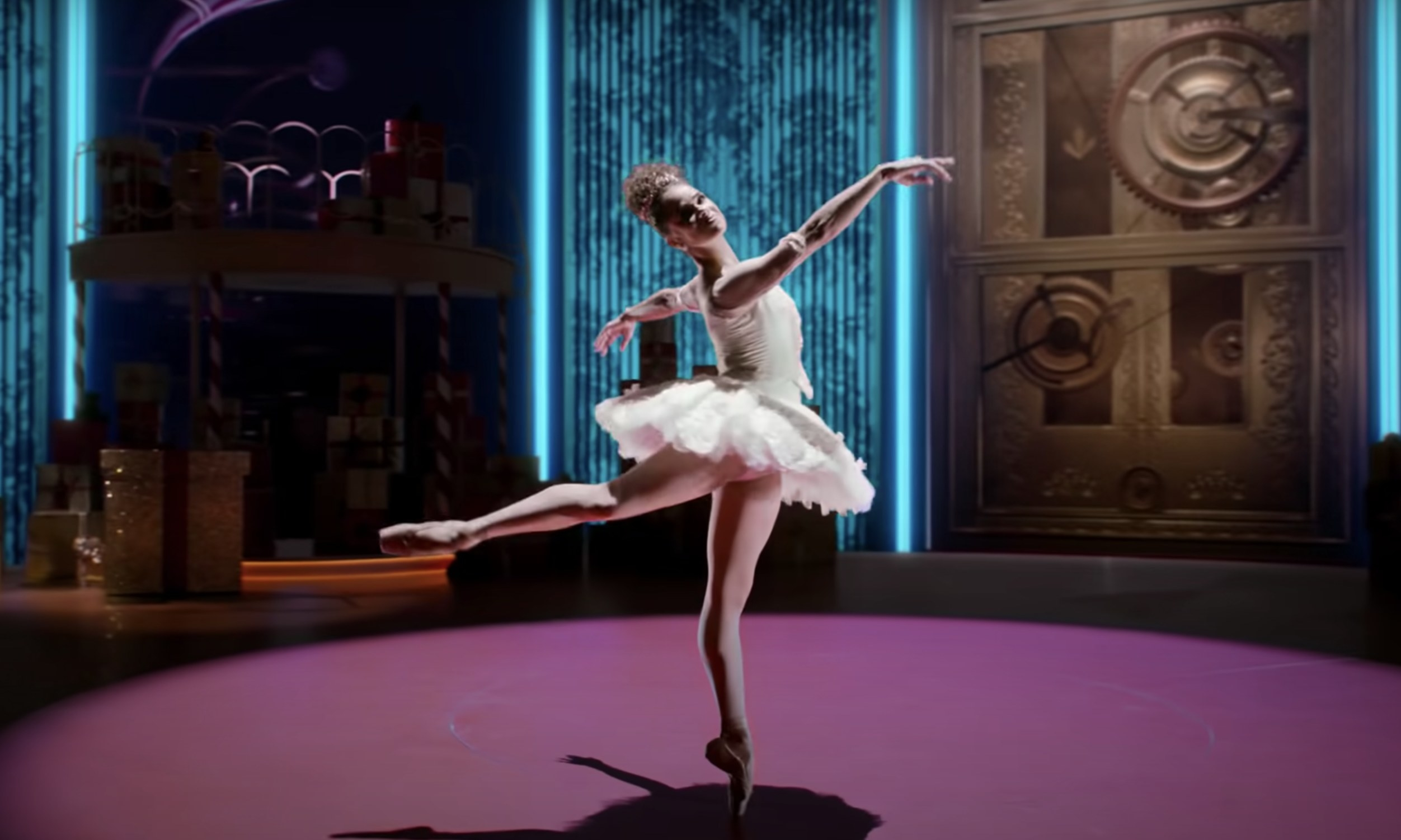 Misty Copeland dancing