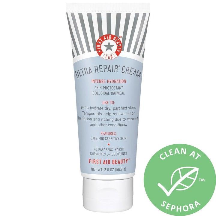 the tube of hand cream