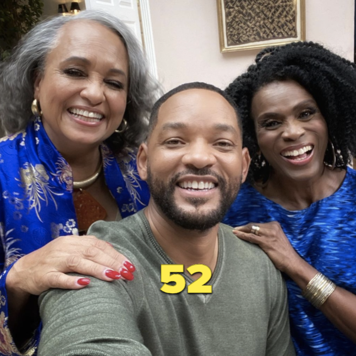 Will Smith reuniting with both Aunt Viv's