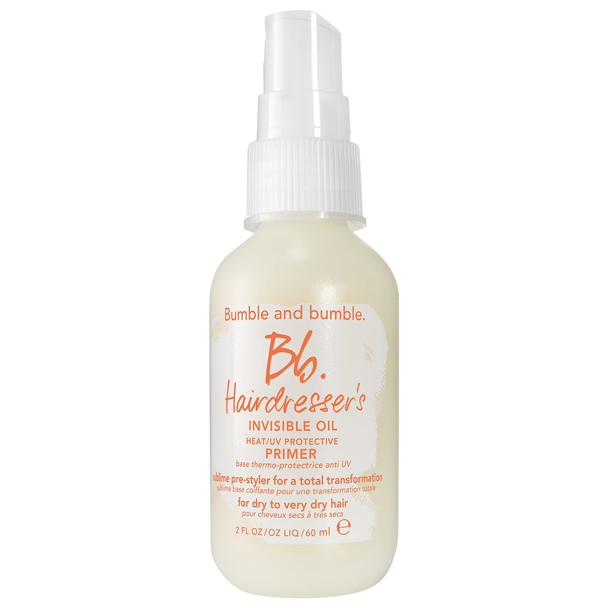 spray bottle of the invisible oil primer