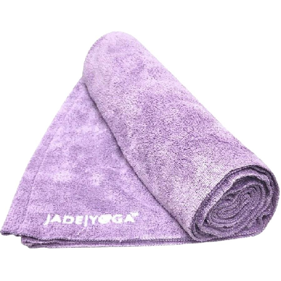 the lavender colored towel