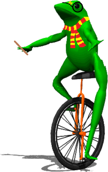 Dat Boi dressed as Harry Potter- Dat Boi who lived
