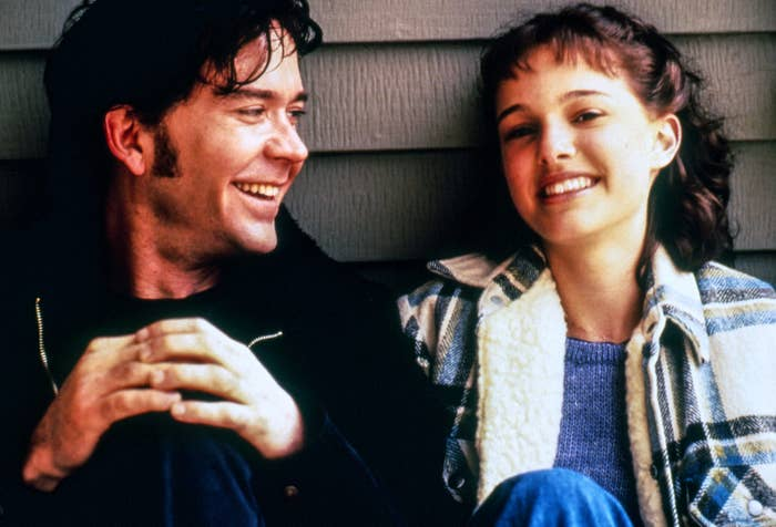 """Timothy Hutton and  Natalie Portman in """"Beautiful Girls"""""""