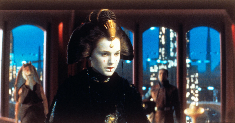 """Natalie Portman in """"Star Wars: Episode 1"""""""