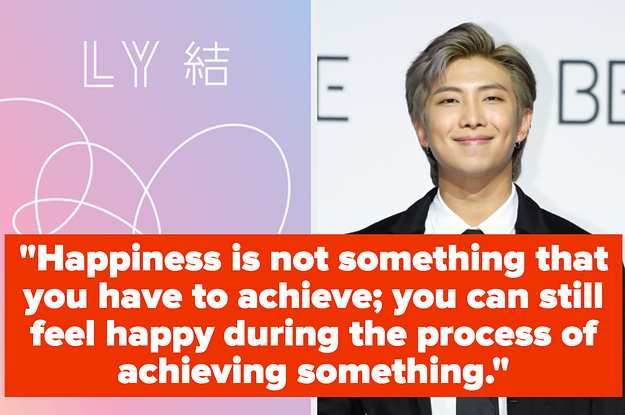 Your Favorite B-Sides From Each BTS Album Will Reveal Which RM Inspirational Quote You Need To Hear Now